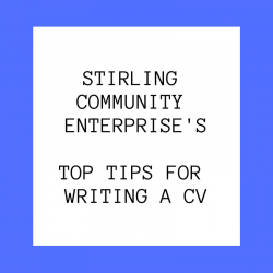 Top Tips for writing a CV!